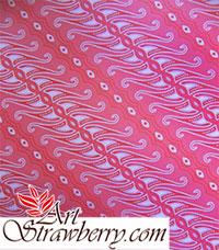 kertas kado motif batik
